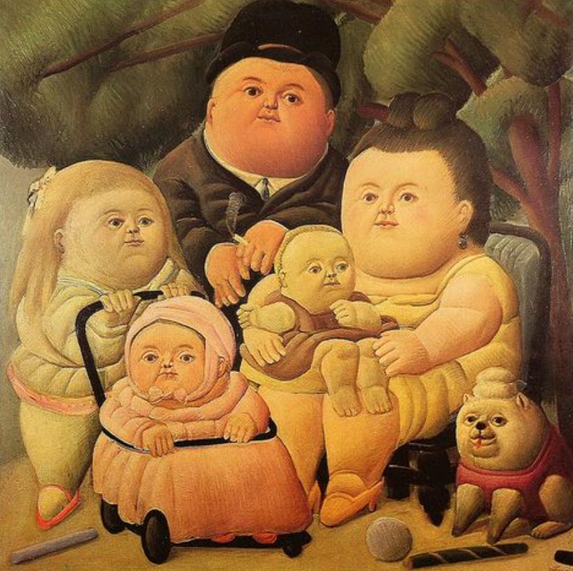 La familia Pinzon (Botero).png